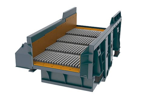 Separator trough